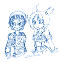 Jet Force Gemini: Sketch by Zilkenian