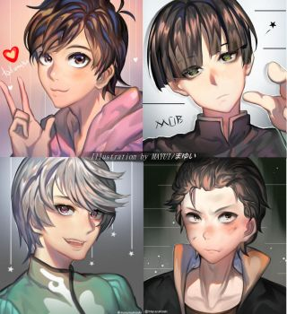 4 of My Favorite Male Character This Year by MayuiChan17