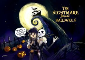 Nightmare before Halloween by amoykid