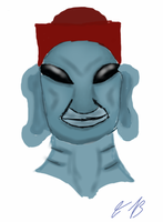 Face Off Concept: 703 Ancient Aliens by Gray-Vizard