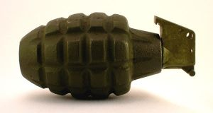 Grenade, Mk2, side by FirearmsandDevices