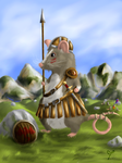 Ami the rat warrior by Isil22