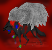Fallen Angle Auction -closed- by Adoptie
