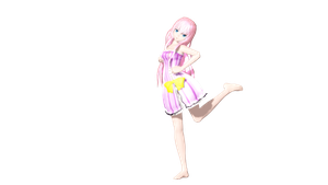MMD DT Fairy Macaron Wip 2 by willianbrasil
