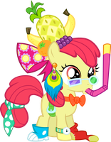 Apple Bloom - Accessorized by BobtheLurker