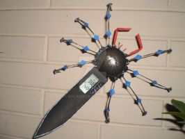 spider clock digital by bolarei
