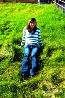 Portrait in the grass by SymmetricalLove