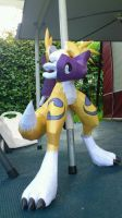 Renamon Progression VI by wingedLizz