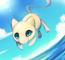 Ocean mew redraw by Pand-ASS