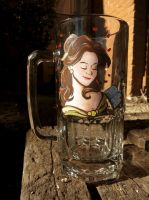 Beauty and the Beast Belle Stein by AstroRobyn