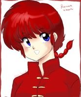 female Ranma again by AngieSan