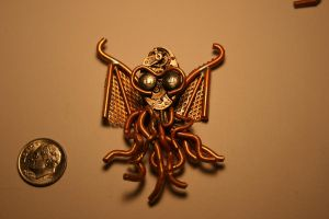 Clockwork angry Cthulhu by Paul-Nasca