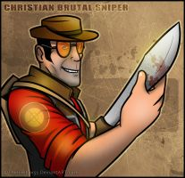 TF2 - Christian Brutal Sniper by RatchetMario