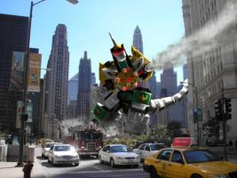 Dragonzord by Jeff-Destroy