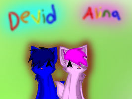 :RQ: Devid and Alina by BloodedFox
