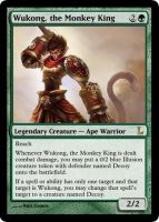 MtG - Wukong, the Monkey King by soy-monk
