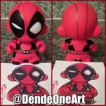 Deadpool Munny by dendeone