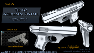TC-40 Assassin Pistol by primnull