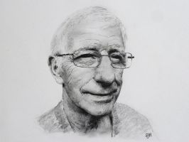My dad in pencil by SteveHargreaves