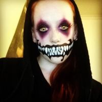 Psycho Killer Clown Thing by madmaddiesmakeup