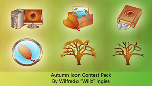 Autumn Icons By Will Ingles by CrystalPhoenixStudio