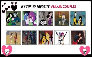My Top 10 Favorite Villain Couples by Toongirl18