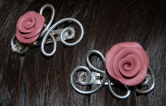 hairclips by trapus
