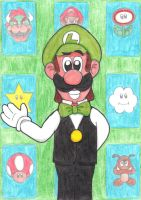 Casino Luigi by Iwatchcartoons715