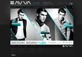 AVVA e-Commerce Design by avcibulent