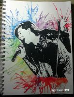 Christina Grimmie in Technicolor by lyra071495