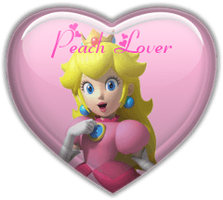 Peach lover badge by Fire-Blazethecat