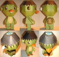 Kappa Paper Toy 1st Draft by Macula