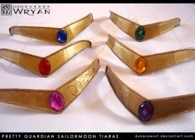 PGSM Cosplay Tiaras by dukesawolf