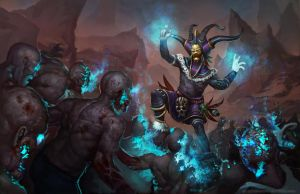 Diablo 3 Witch Doctor Showdown by AlexKonstad