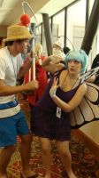Bug Catcher and Butterfree by ShinkaStudiosCosplay