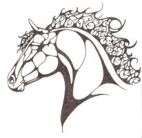 Celtic Horse by angeljulietinamorata