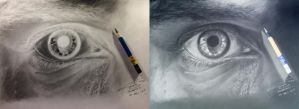 Eye drawing in Negative Effects by ShahmiMSD