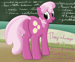 Cheerilee teaching by JamesHalt
