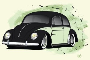 vw beetle by GabeRios