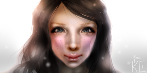 SL Virtual girl portrait by MatiasBloodbones