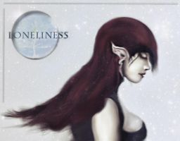Loneliness 2 color by fixer11