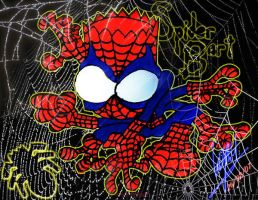 Spider-Bart by DrAlpha