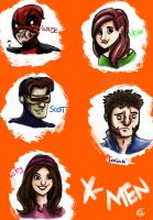 X-Men by Giorgia99