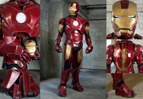 Iron Man - Mark III Details by Morataya