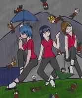 600: It's Raining...Men by DarkKnightnojutsu