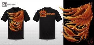 Phoenix T-Shirt Design by LGood20