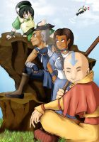Avatar: The Last Airbender by Nee-Jaku