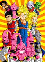 Chibi Dragon Ball Z by RafaYazoo
