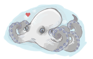 Octopus is Love by Pandagrass
