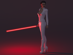 Countess Leia - Mirror Galaxy by bigcurf